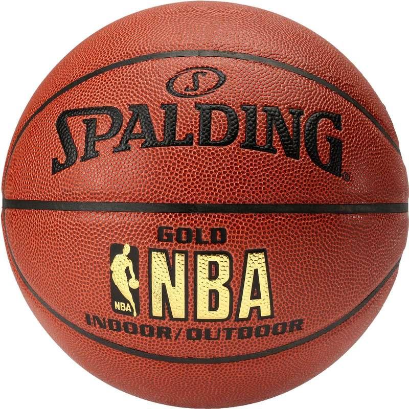 МЯЧИ / БАСКЕТБОЛ Баскетбол - Баскетбольный мяч Spalding Gold, P7 NO BRAND - Баскетбол