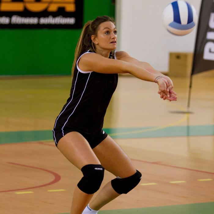 Short de volley-ball femme Lady noir et - 890241