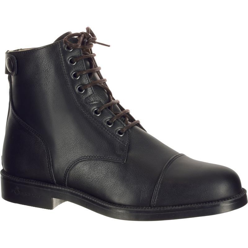 Cordones para botas de equitación negros