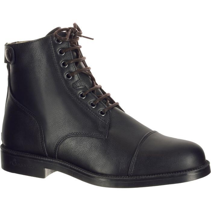 Lacets pour boots équitation noir