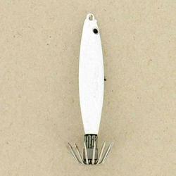 Squid-Jig mit Jighead zum Angeln auf Sepien und Kalmare