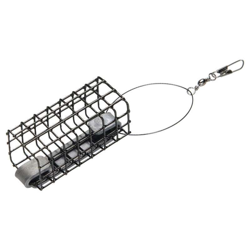 ACCESSORI FEEDER Pesca - Gabbia SIMPLY'FEEDER SQUARE x2 CAPERLAN - Pesca a feeder