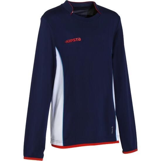 Voetbalshirt met lange mouwen voor kinderen F500 - 891069