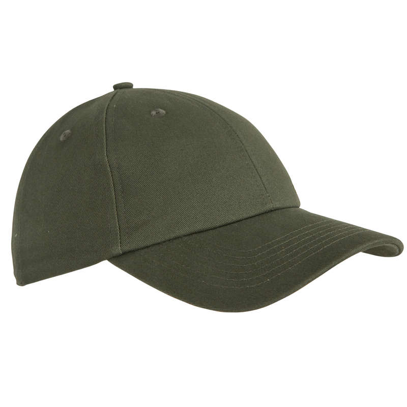 CAPS/HATS Shooting and Hunting - STEPPE 100 CAP KHAKI SOLOGNAC - Hunting and Shooting Clothing