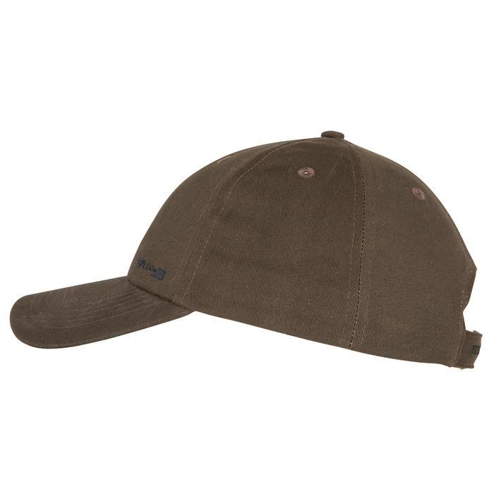 Casquette chasse Steppe 100 marron