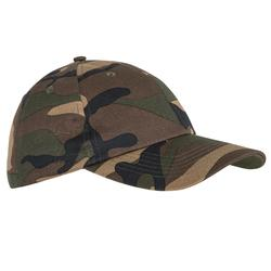 Steppe 100 Cap - woodland camouflage