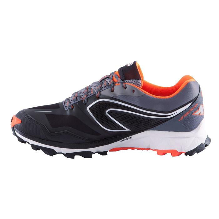Trailschoenen voor heren Kiprun Trail XT 6 waterproof zwart oranje