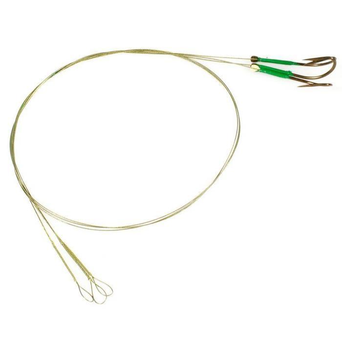 Avançon pêche carnassier RESIFIGHT 7 hameçon simple 12KG x3 - 892984