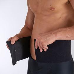Lendenstützgurt Soft 100 Rückenbandage Erwachsene schwarz