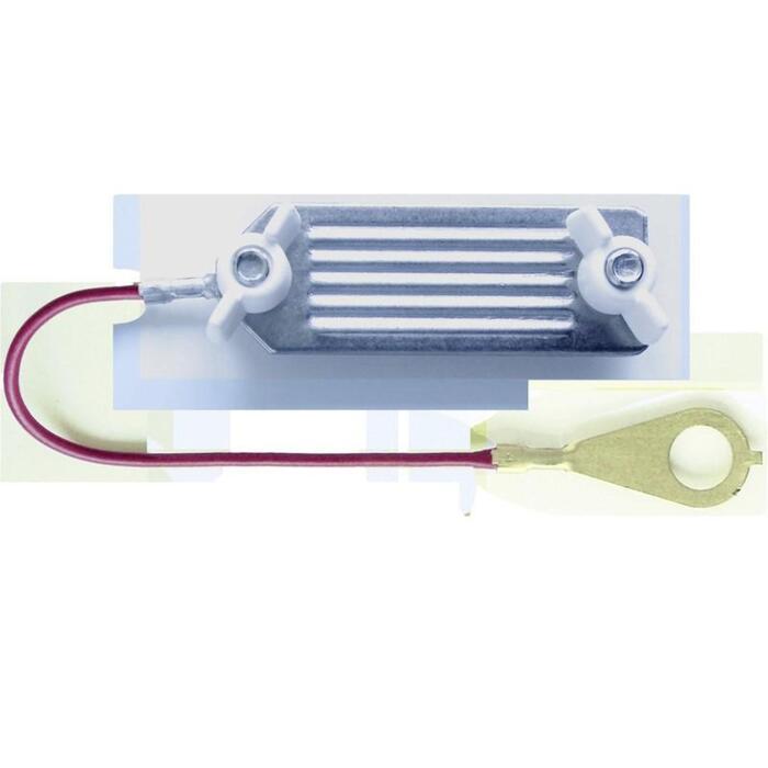 Conector valla equitación con tornillo para cintas de hasta 40 mm - 130 cm x 1