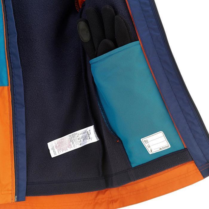 Veste chaude imperméable de randonnée Garçon Hike 500 3en1 - 894529