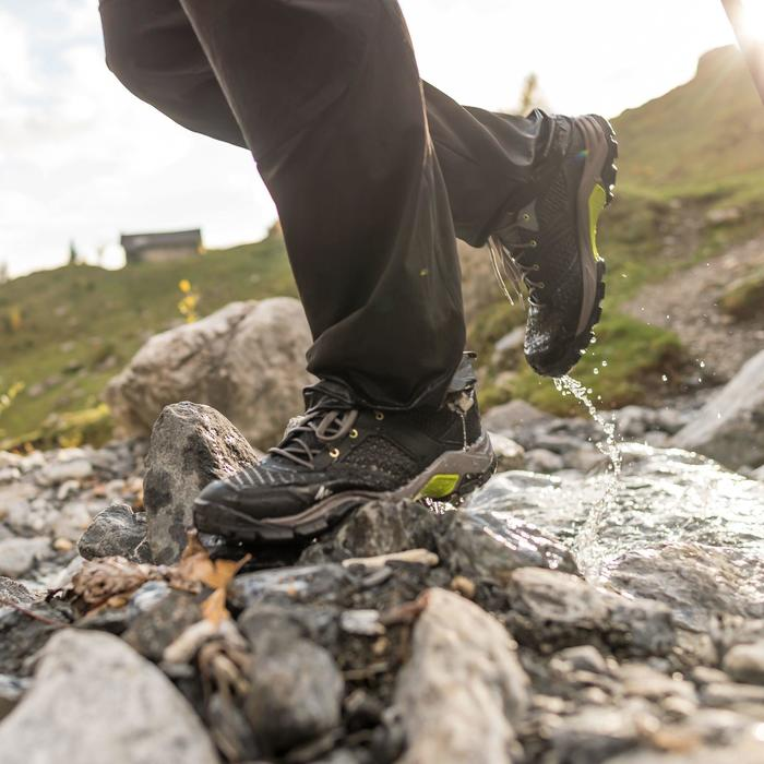 Chaussure de randonnée nature homme NH500 Fresh noir