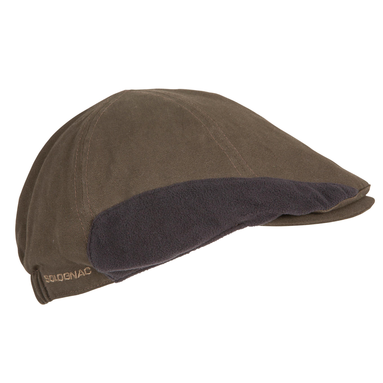 Flat Hunting Cap - brown