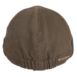 Warme en platte pet voor de jacht bruin
