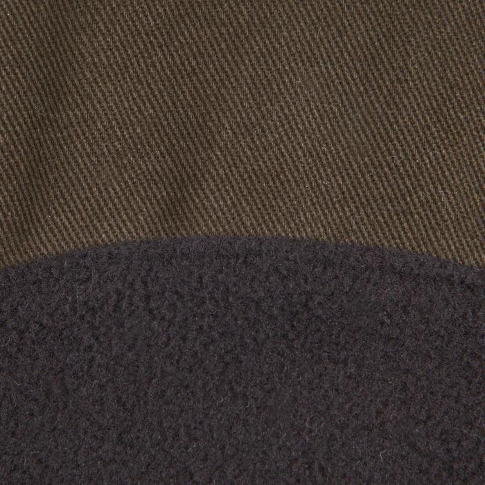 Casquette plate chasse marron