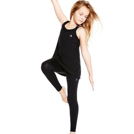 Girls' Dance Leggings - Black | Domyos by Decathlon