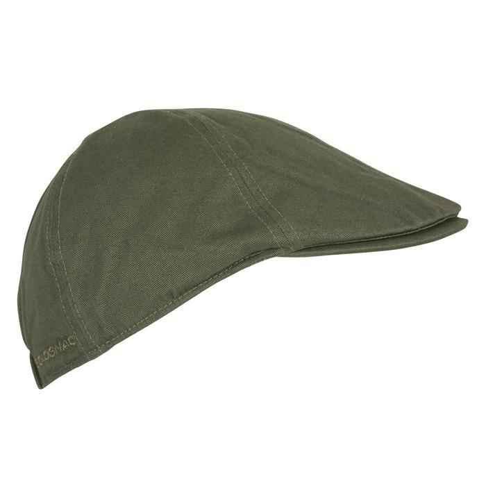 Jagd-Schirmmütze flach Steppe khaki grün
