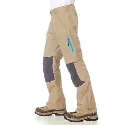 Afritsbare wandelbroek voor jongens Hike 900 - 895963