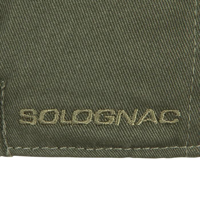 Gorra Caza Solognac Plate Steppe Visera Plana Verde