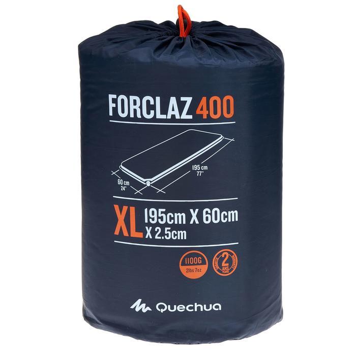 Isomatte selbstaufblasend Forclaz 400 XL blau Breite 60 cm