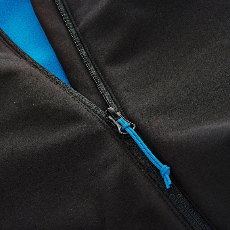 Women's WindWarm 100 Hiking Softshell Jacket - Black