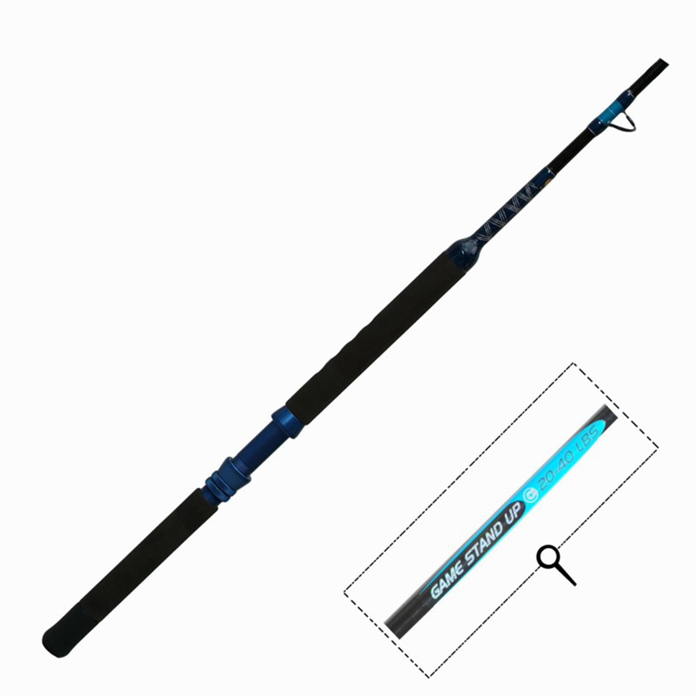Caña para la pesca de troleo GAME 300 STAND UP 20/40 LB