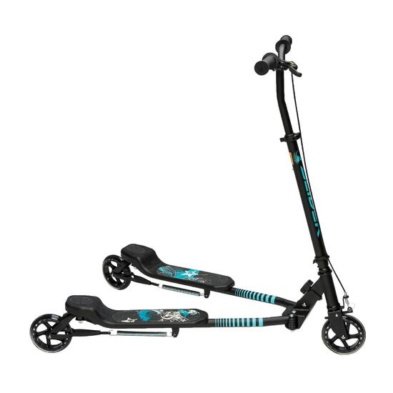 Step met 3 wielen Slider zwart/blauw 2015 - 897129