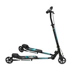 Step met 3 wielen Slider zwart/blauw 2015