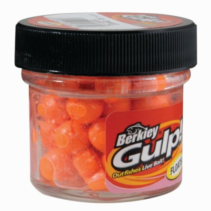 Kunstaas voor forelvissen zalmeitjes oranje