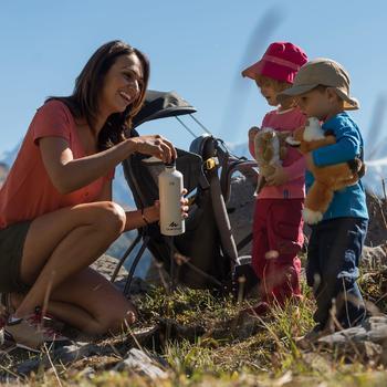 Pantalon de randonnée enfant Hike 500 marron clair - 897562