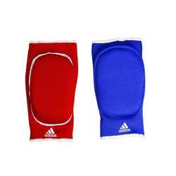 Keerbare elleboogbrace blauw/rood