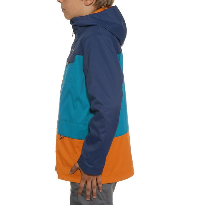 Veste chaude imperméable de randonnée Garçon Hike 500 3en1 - 898401