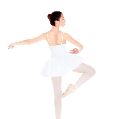 tutu de danse classique fille gala blanc domyos by decathlon. Black Bedroom Furniture Sets. Home Design Ideas