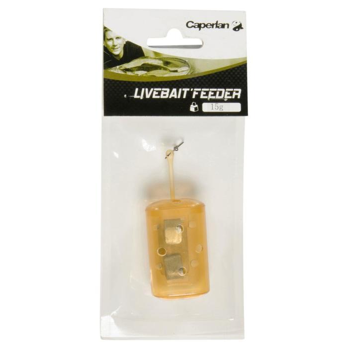 Accessoire voor feedervissen feederkorf Livebait x1 15 g