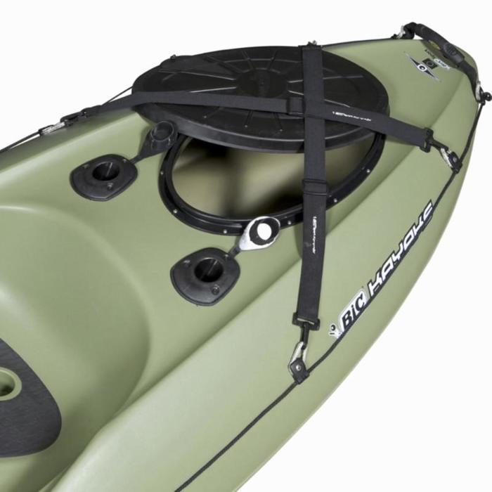 Canoa Kayak de pesca Bilbao Fishing verde 1 plaza