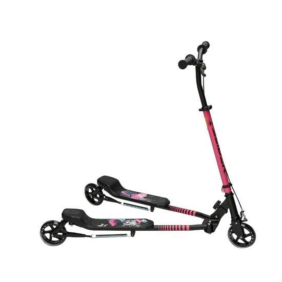 Step met 3 wielen Slider zwart/roze 2015 - 899635