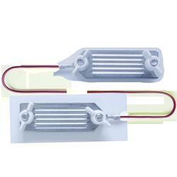 Connecteur clôture équitation pour rubans jusqu'à 40 mm - 80 cm x1