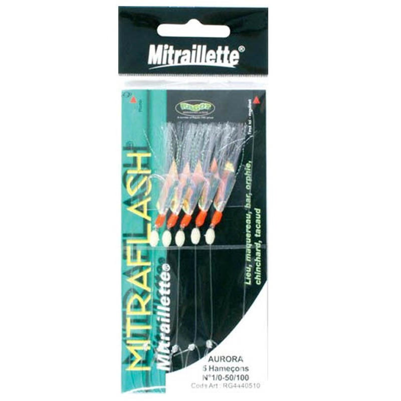 Sea Fishing 5x Mitraflash Hooks Set 3
