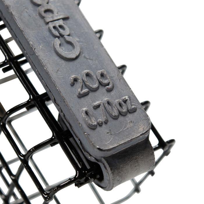 Futterkörbchen Simply, Zubehör Feederangeln, 2 Stück, 20 g, rechteckig