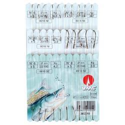 Haken hengelen op roofvissen set roofvishaken