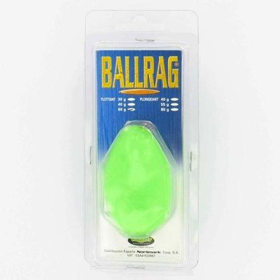 Ballrag phosphorescent 40gr pêche en mer