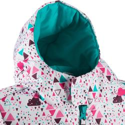 CHILDREN'S SKIING JACKET 100 - MULTICOLOUR
