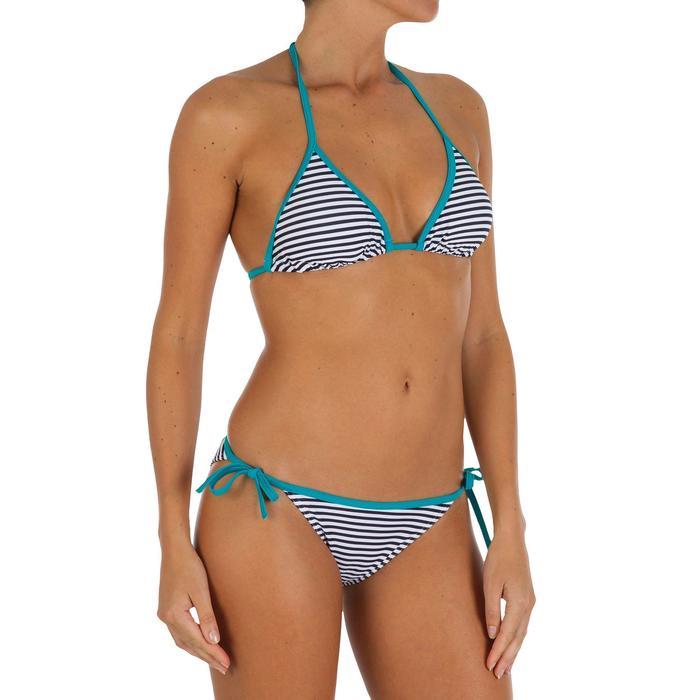 Haut de maillot de bain femme triangle coulissant avec coques MAE - 903403