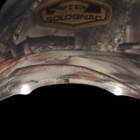 Casquette éclairante chasse Actikam 500 DEL camouflage marron