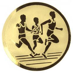 Plaatje hardlopen goud