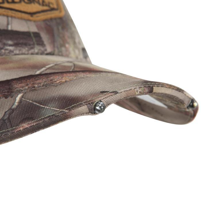 Jagd-Schirmmütze Actikam 500 LED camouflage braun