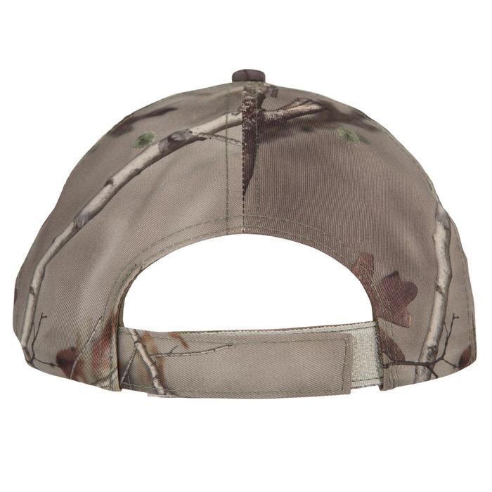 Casquette éclairante chasse Actikam 500 Led camouflage marron - 90520