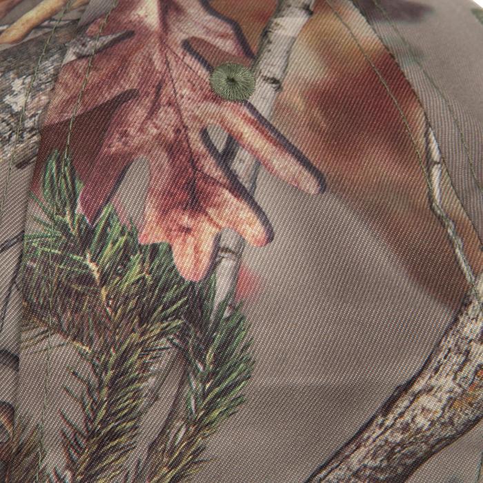 Casquette éclairante chasse Actikam 500 Led camouflage marron - 90524