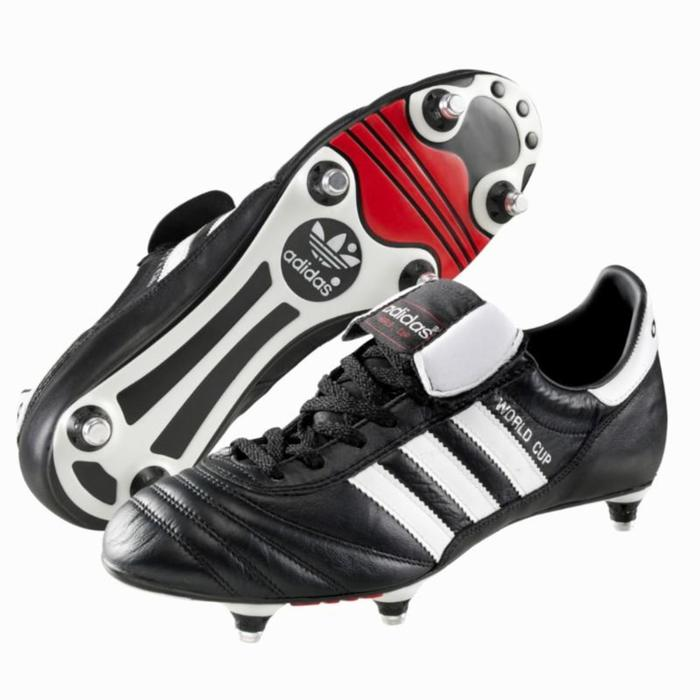 Chaussure de football adulte World Cup SG noire - 905257