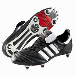 Voetbalschoenen voor volwassenen World Cup SG zwart